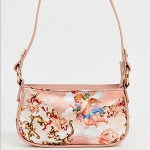 90s shoulder bag in Cupid print